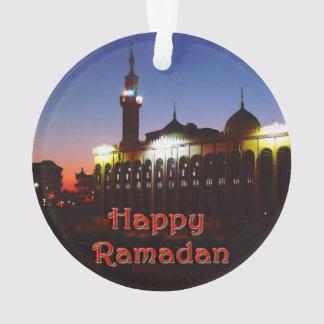 Ornamento feliz del Ramadán