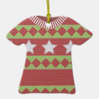 Ornamento feo del premio del suéter del navidad ornamento de reyes magos