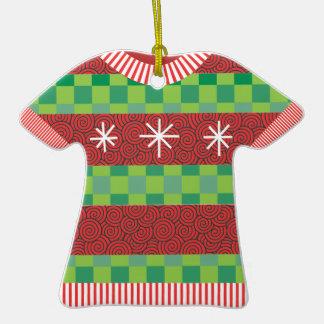 Ornamento feo del premio del suéter del navidad adorno