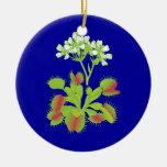 Ornamento floral de los atrapamoscas de Venus Ornamentos Para Reyes Magos