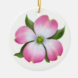 Ornamento floral del Dogwood rosado Ornamento De Reyes Magos