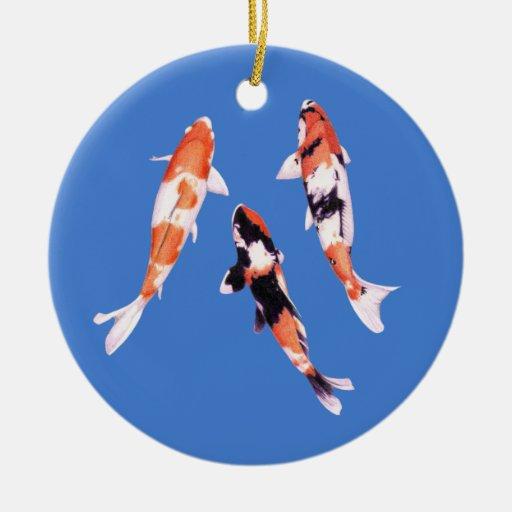 Ornamento flotante de Koi Adorno Para Reyes