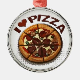 Ornamento fresco de la pizzería de la pizza ornato