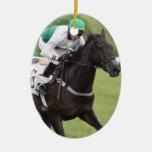 Ornamento galopante del caballo de raza ornamente de reyes