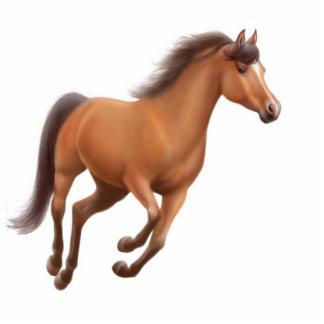 Ornamento galopante del día de fiesta del caballo esculturas fotograficas