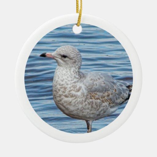 Ornamento-Gaviota Ornamento Para Arbol De Navidad