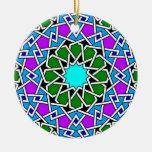 Ornamento geométrico islámico del modelo adornos