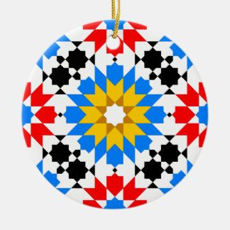 Ornamento geométrico islámico del modelo ornamento de reyes magos