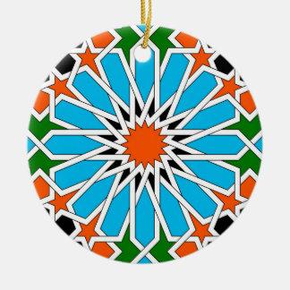 Ornamento geométrico islámico del modelo ornamentos de reyes