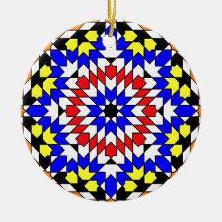 Ornamento geométrico islámico del modelo ornato