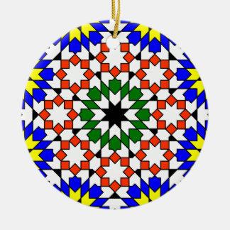 Ornamento geométrico islámico del modelo adorno para reyes