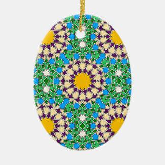 Ornamento geométrico islámico del modelo adorno