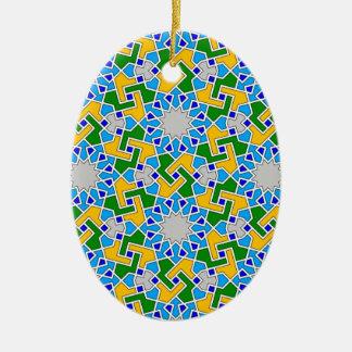 Ornamento geométrico islámico del modelo ornamento para reyes magos