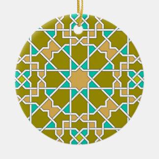 Ornamento geométrico islámico del modelo ornamentos para reyes magos