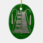 Ornamento - Glockenspiel que marcha - escoja su Adorno De Reyes