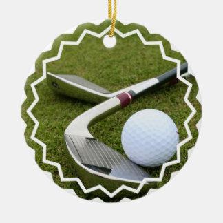 Ornamento Golfing Ornamento Para Arbol De Navidad