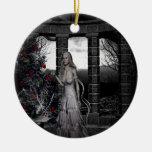 Ornamento gótico del día de fiesta del navidad adorno