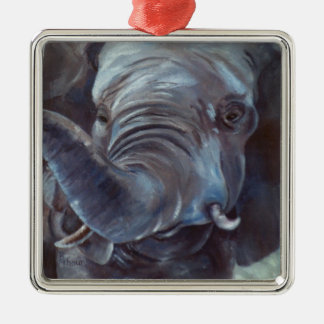Ornamento grande del muchacho del elefante ornamento de navidad