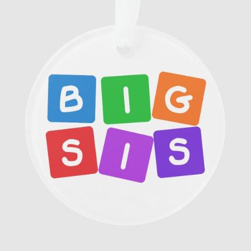 Ornamento grande del personalizado del SIS