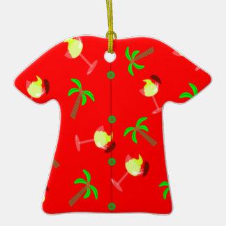 Ornamento hawaiano del navidad de la palmera del n adorno para reyes