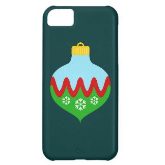 Ornamento hermoso del navidad carcasa iPhone 5C