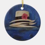 Ornamento hermoso del tapiz de los gorras de Panam Ornamentos Para Reyes Magos