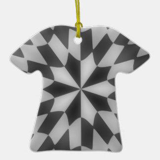Ornamento hipnótico negro gris del modelo ornatos