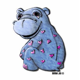 Ornamento - hipopótamo de Haley Escultura Fotográfica