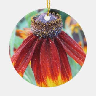 Ornamento indio de la flor combinada ornamentos de reyes magos