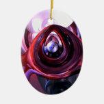 Ornamento interno del extracto de la paz adornos de navidad