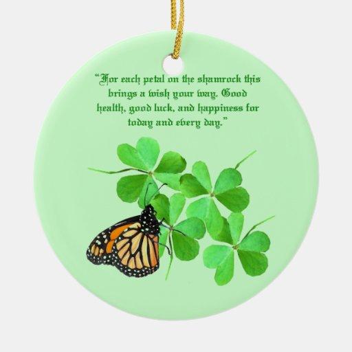 Ornamento irlandés de la bendición ornamento para reyes magos