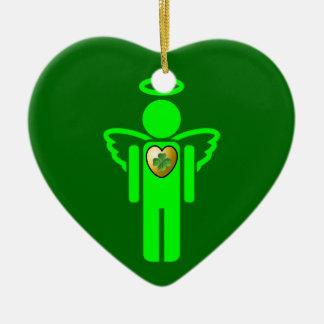 Ornamento irlandés del ángel ornamento de reyes magos
