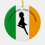 Ornamento irlandés del baile de paso ornato
