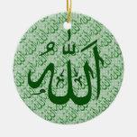 Ornamento islámico de Alá Ornatos