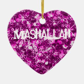 Ornamento islámico de la celebración de Mashallah Adorno Para Reyes