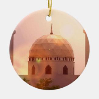 Ornamento islámico de la mezquita ornamentos para reyes magos