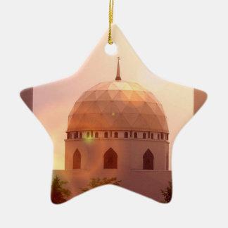Ornamento islámico de la mezquita adorno de navidad