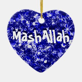 Ornamento islámico del azul de la celebración de M Ornamento Para Reyes Magos
