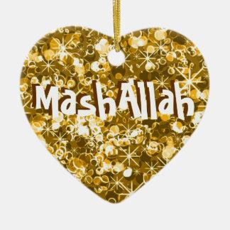 Ornamento islámico del oro de la celebración de Ma Adorno De Reyes