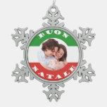 Ornamento Italiano-Americano del navidad de la fot
