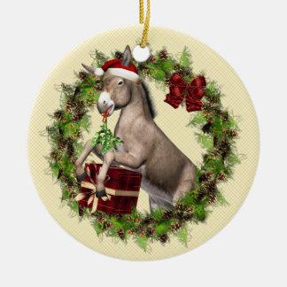 Ornamento italiano de Buon Natale del burro del Ornamento De Reyes Magos