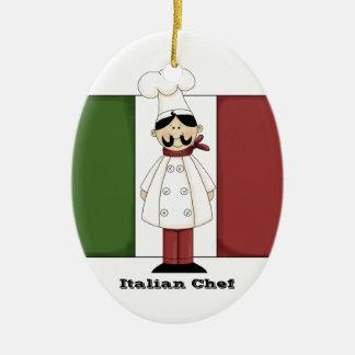 Ornamento italiano de la cocina del cocinero #6 ornamentos para reyes magos