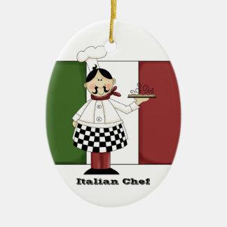 Ornamento italiano de la cocina del cocinero #7 ornamente de reyes