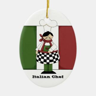 Ornamento italiano de la cocina del cocinero #8 ornato