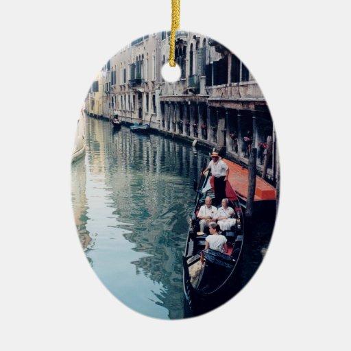 Ornamento italiano del árbol de navidad - Venecia, Ornatos
