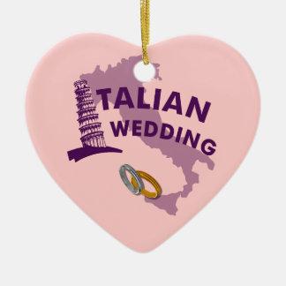 Ornamento italiano del boda ornamentos de reyes magos