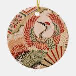 Ornamento japonés de la tela ornamento para arbol de navidad