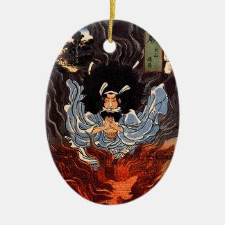 Ornamento japonés del arte ornamentos para reyes magos