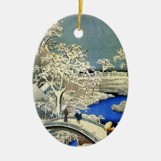 Ornamento japonés del navidad del vintage adorno de navidad