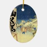 Ornamento japonés del navidad del vintage ornamento para reyes magos